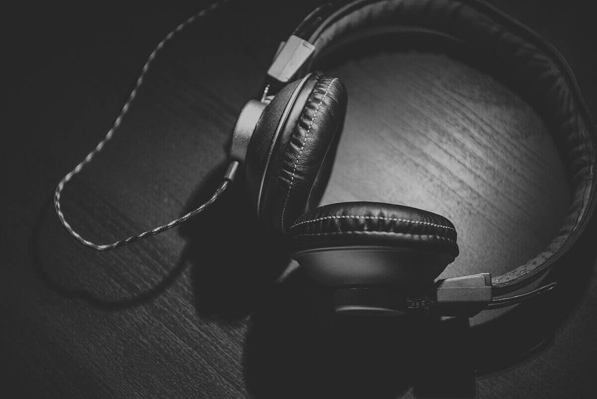 Kopfhörer zum Musik hören