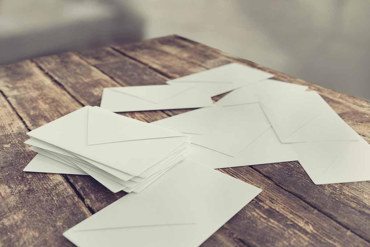 Rechnung nicht per Post sondern per E-Mail verschicken