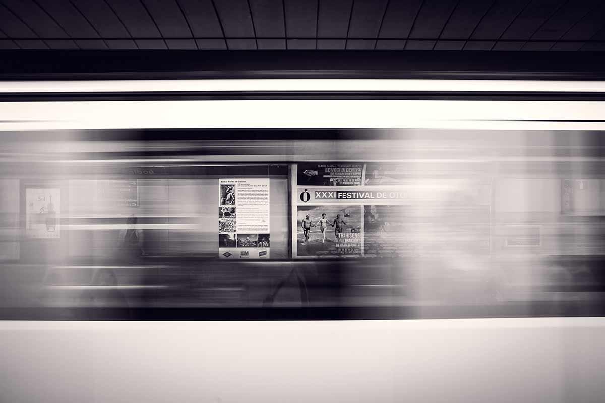 -Bahn in Sekundenschnelle