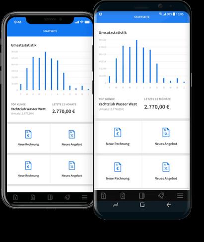 invoiz Smartphone Apps