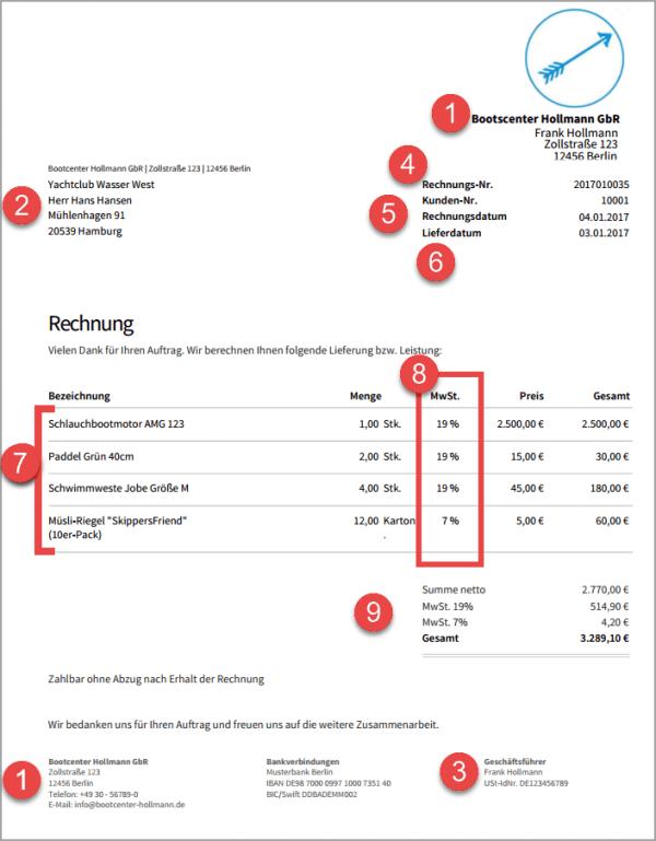 Rechnungsprogramm invoiz | Rechnung schreiben - so geht\'s