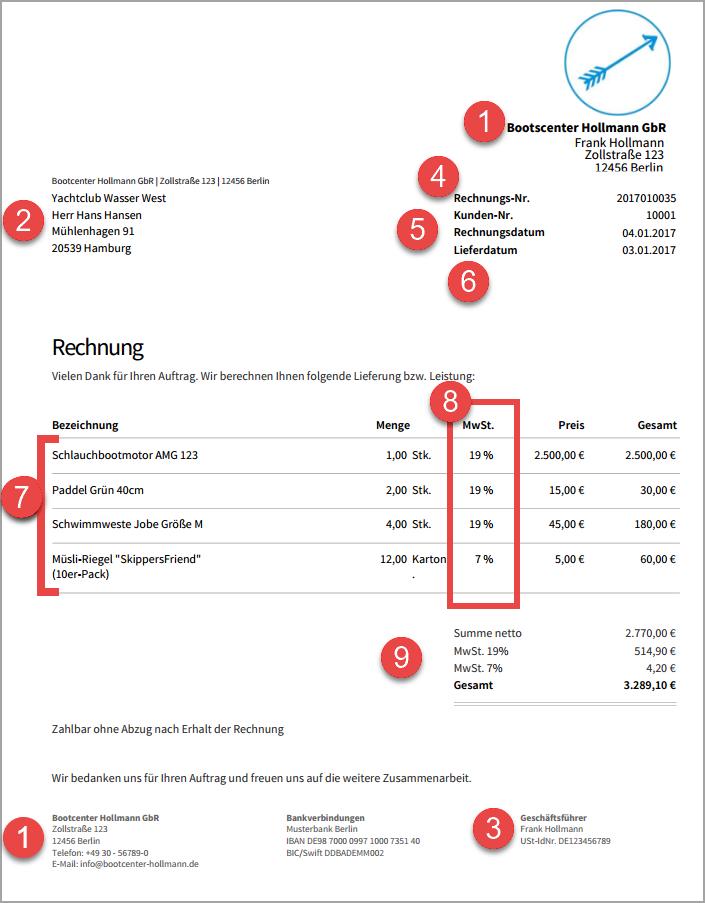 rechnungsprogramm invoiz rechnungsvorlagen. Black Bedroom Furniture Sets. Home Design Ideas