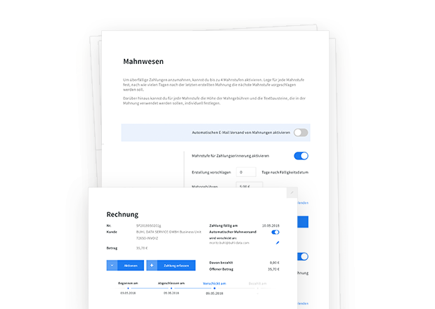 Automatisierung in invoiz