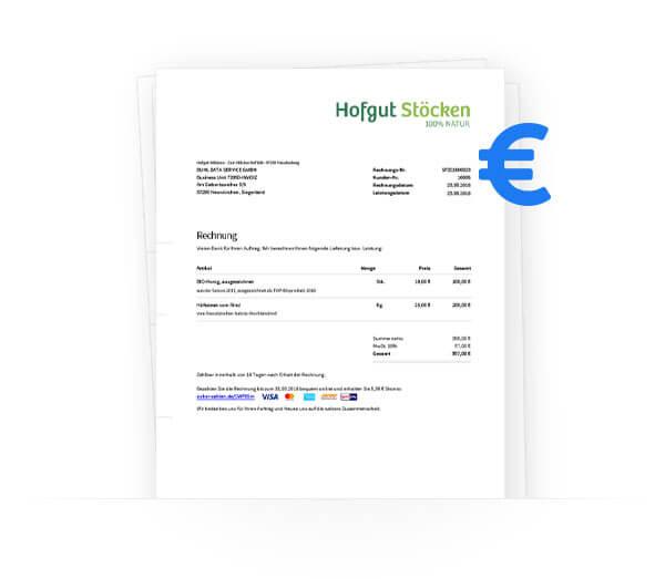 Rechnung & Buchhaltung in invoiz