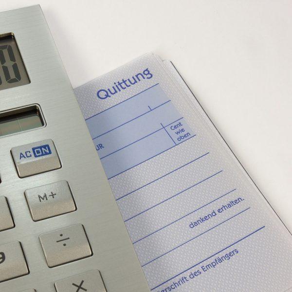 Unterschied zwischen Rechnung und Quittung