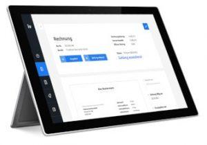 invoiz Tablet